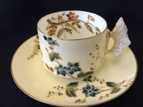 Charles Field Haviland - Limoges - Tea cup and saucer c1868
